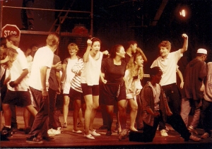 West Side Story being performed on stage