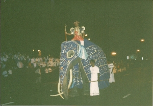 Colombo Perahera in 1992