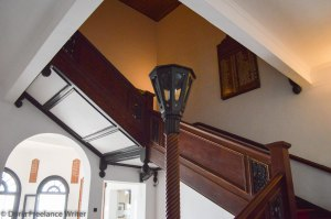 Stairway to the Guestrooms