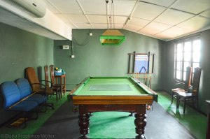The Snooker Table